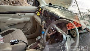 India-spec 2018 Maruti Ertiga interior spied