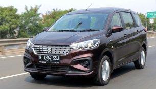 First video reviews of the 2018 Suzuki Ertiga are in