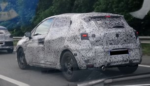 2019 Renault Clio spied testing in France