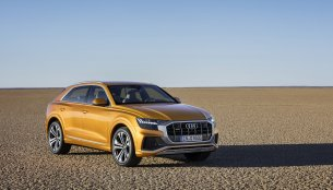 Production ready Audi Q8 SUV coupe officially unveiled in China
