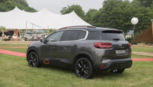 India-bound Citroen C5 Aircross - In 10 Live Images
