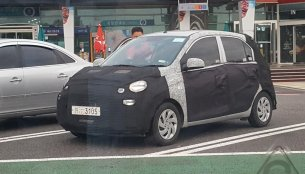 Hyundai AH2 (Hyundai Santro) spied in South Korea
