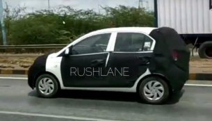 Hyundai AH2 (new Hyundai Santro) caught testing on video