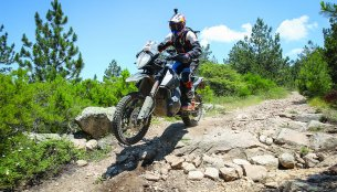 KTM 790 Adventure R displays its off-road prowess [Video]