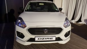 Suzuki Dzire (Maruti Dzire) with body kit showcased