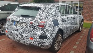 Mercedes A-Class Plug-in Hybrid spotted in a parking lot