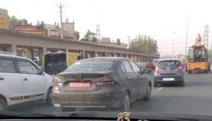 Purported Maruti Ciaz 1.5 L diesel spotted testing, will be launched in 2019