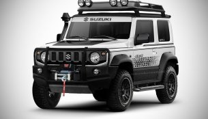 New Suzuki Jimny off-road spec - IAB Rendering