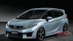 Next-gen Honda Jazz (Honda Fit) imagined - Rendering