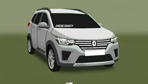 Renault RBC (7-seat Maruti Wagon R challenger) by IA Design - Rendering