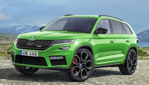 Skoda Kodiaq RS could debut at 2018 Paris Motor Show - Report