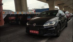 VW Golf GTD spotted undergoing testing in Bangalore
