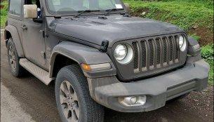2-door 2019 Jeep Wrangler JL on test by ARAI spied