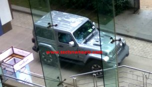 2-door Jeep Wrangler JL spotted in India yet again