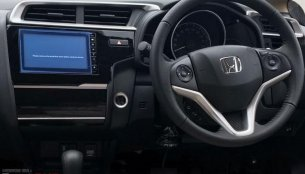 2018 Honda Jazz VX CVT's interior snapped in detail