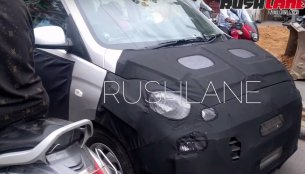 More spyshots of new Hyundai Santro (AH2) interior surfaces [Update]