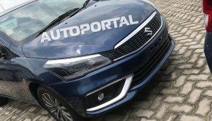 2018 Maruti Ciaz (facelift) seen in clearest spy shots yet
