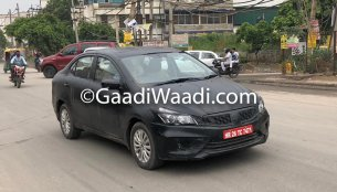 2018 Maruti Ciaz test mule spotted ahead of launch in August