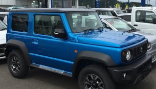 New photos of the 'global' Suzuki Jimny Sierra from dealerships