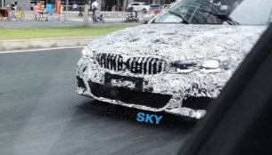Next-gen BMW 3 Series (BMW G20) spied testing in China