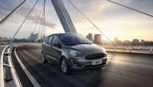 India-bound restyled Ford Ka (Ford Figo) hits the Brazilian market
