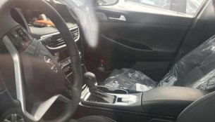 Interior of the China-spec Hyundai Tucson facelift spied for the first time