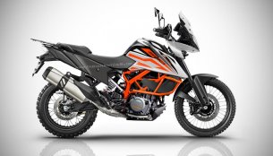 India-bound KTM 390 Adventure - IAB Rendering