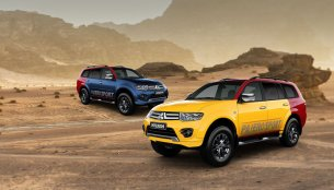 Mitsubishi Pajero Sport 'Splash' with 30+ colours & patterns launched