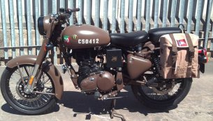 Royal Enfield Classic 500 Pegasus Edition new images leaked