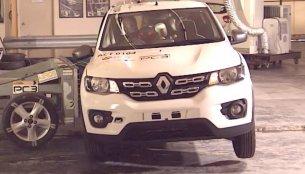 ASEAN NCAP awards Renault Kwid a zero star crash test rating