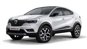 Renault SUV coupe (Renault LJC) imagined - Rendering