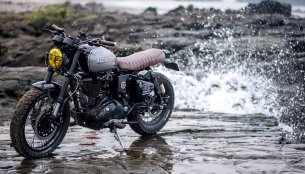Modified Royal Enfield Classic 500 Scrambler 'Reckless' by Bulleteer Customs