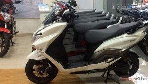 Suzuki Burgman Street dealer dispatches commenced