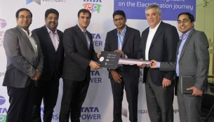 Tata Motors supplies Tata Tigor electric vehicle to Cognizant