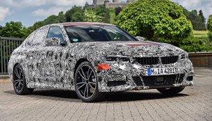 India-bound 2019 BMW 3 Series 55kg lighter, first details revealed