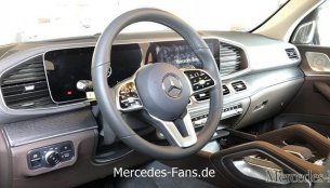 2019 Mercedes GLE interior leaked online