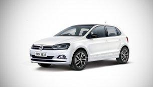 2019 Volkswagen Polo (facelift) - IAB Rendering