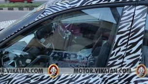 Top-spec Tata Harrier interior seen in clear spy images