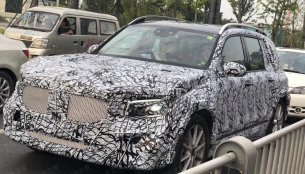 Mercedes GLB spotted in China, baby G-Wagon to go on sale in 2019
