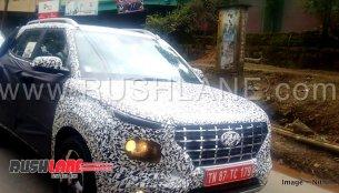 Hyundai QXi (Maruti Vitara Brezza slayer) spied in India for the first time