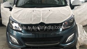 Mahindra Marazzo exterior revealed further in latest spy images