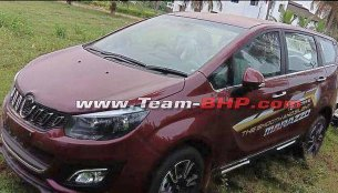 "The ""smooth and silent"" Mahindra Marazzo's exterior spied undisguised"