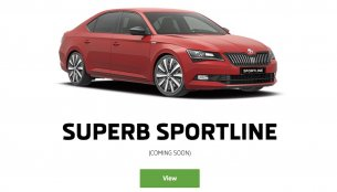 "Skoda Superb Sportline listed in India, ""coming soon"""