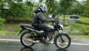 Bajaj Platina 125 Comfortec with disc brake spied testing - Report