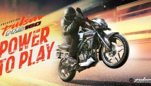 Bajaj Pulsar NS 160 Twin Disc could be priced at INR 84,602 ex-showroom Navi Mumbai