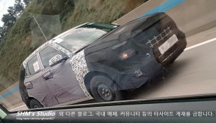 New spy media of the Hyundai entry SUV comes from Korea