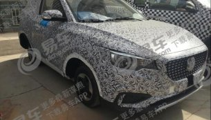 Spied in India, MG ZS compact SUV in pure EV form starts testing in China