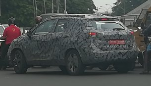 Reader spots the Nissan Kicks testing in Chennai