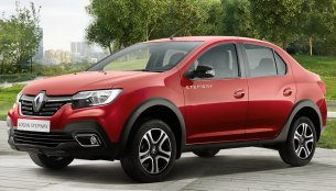 Renault Logan Stepway cross-sedan revealed