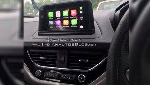 Tata Nexon updated with Apple CarPlay